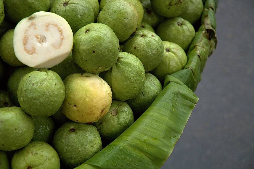 Guava is another delicious Thai fruit