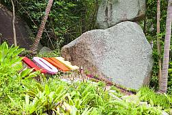 Valentine Stone and Sivatara Waterfall in Koh Samui