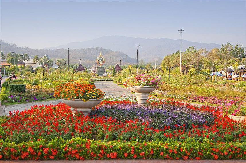 Chiang Mai in all its beauty - Royal Flora Ratchapruek Botanical Gardens