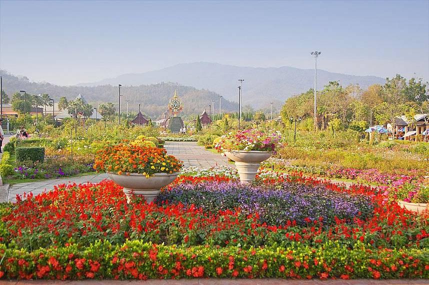 Chiang Mai in all its beauty - Royal Flora Ratchapruek Botanical Gardens