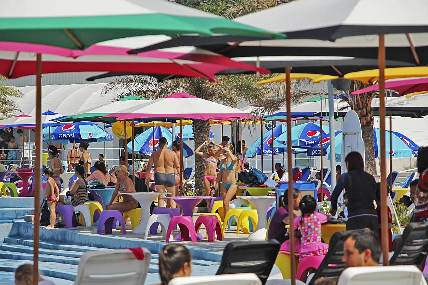 Water Park Cartoon Network Amazone  Pattaya offers plenty of relaxing places