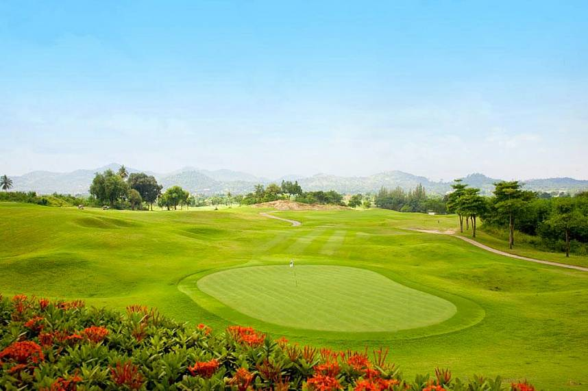 Great view from Burapha Golf Club Pattaya