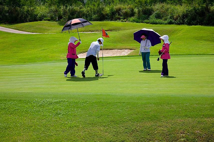 A great place for a golf holiday -  Burapha Golf Club Pattaya