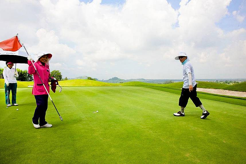 Enjoy your golf day at Burapha Golf Club Pattaya