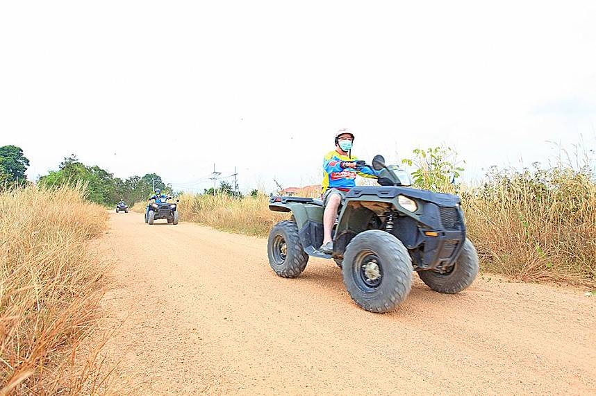 Buggies are a great way to explore the ATV Pattaya Jungle Adventures circuits