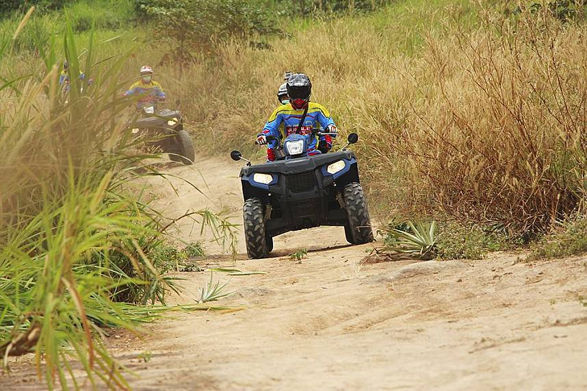 Travelers surely love a buggy ride at Pattaya ATV Jungle Adventures