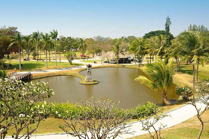 Bangpra International Golf Course Pattaya - the great place for a golf challange
