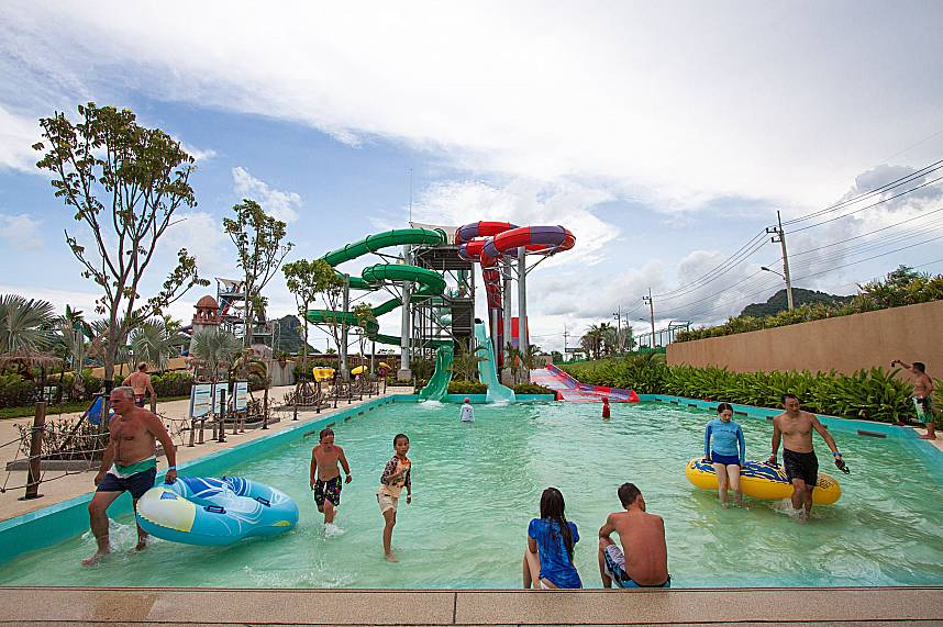 The guests definitely enjoy their day at RamaYana Water Park have a fantastic time