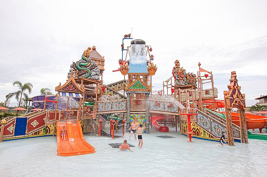 Join in for a exiting day at RamaYana Water Park Pattaya during your holiday