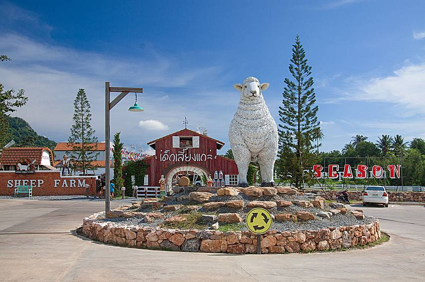 Swiss Sheep Farm in Pattaya welcomes everybody