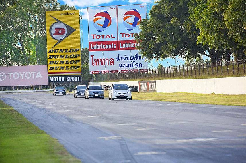 Challanging holiday at Bira Circuit Race Track Pattaya