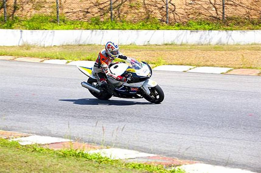 Fast round at Bira Circuit Race Track Pattaya