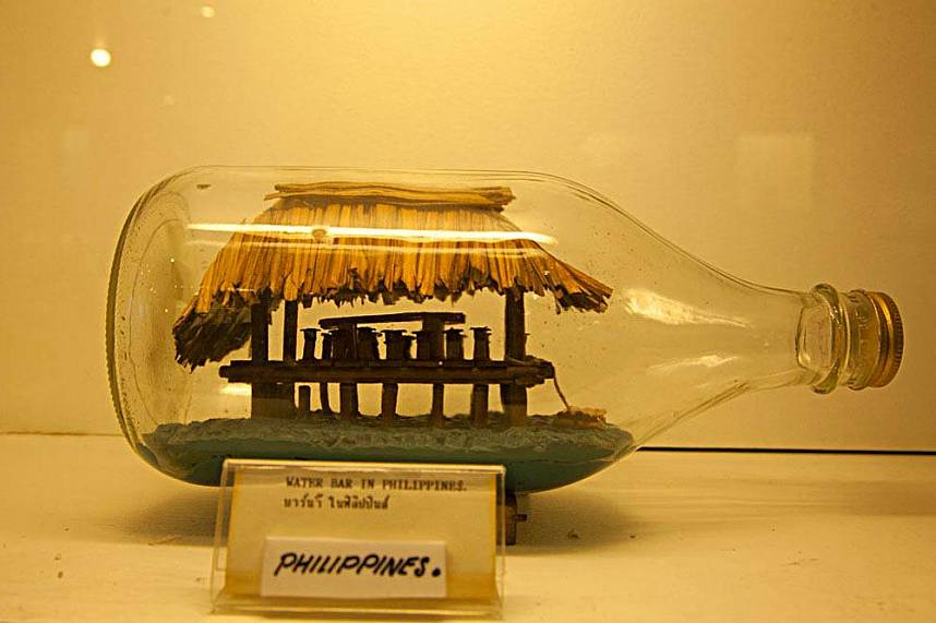Pattaya Bottle Art Museum - great for the whole family