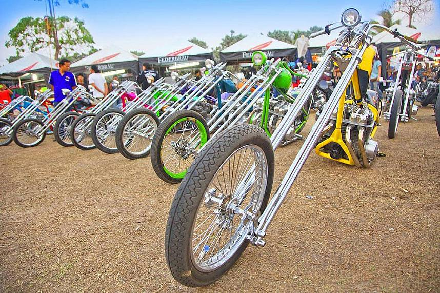 Amazing bikes at Annual Burapa Bike Show Pattaya