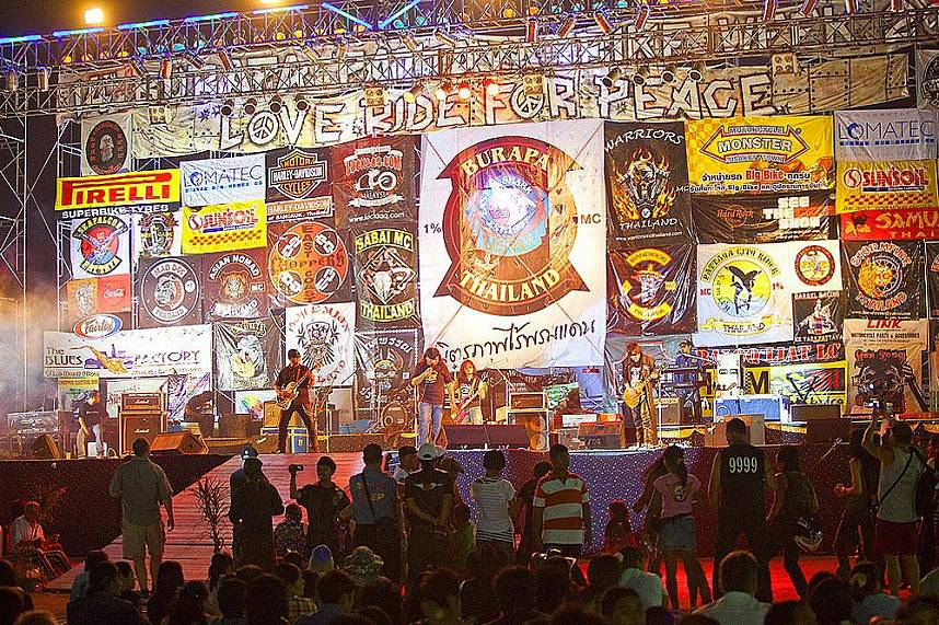 Lets rock at the Annual Burapa Bike Show Pattaya
