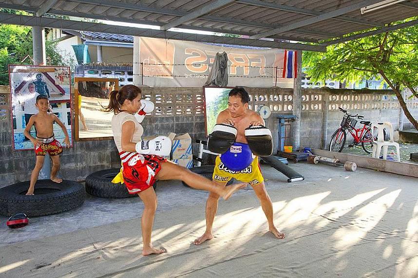 Get a unique Thai holiday experience at Chor Nateethong Muay Thai Gym Pattaya