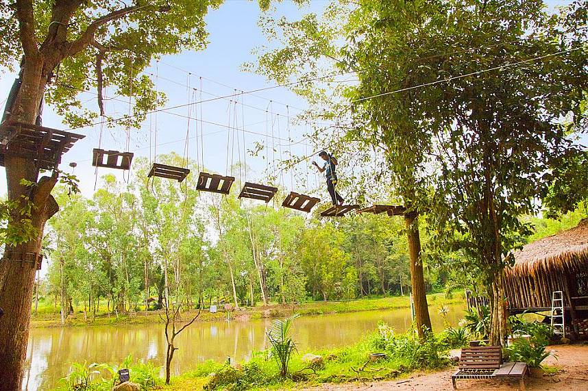 Feel the adventure attraction at Horseshoe Point Pattaya