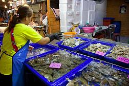 Рыбный рынок на Наклыа