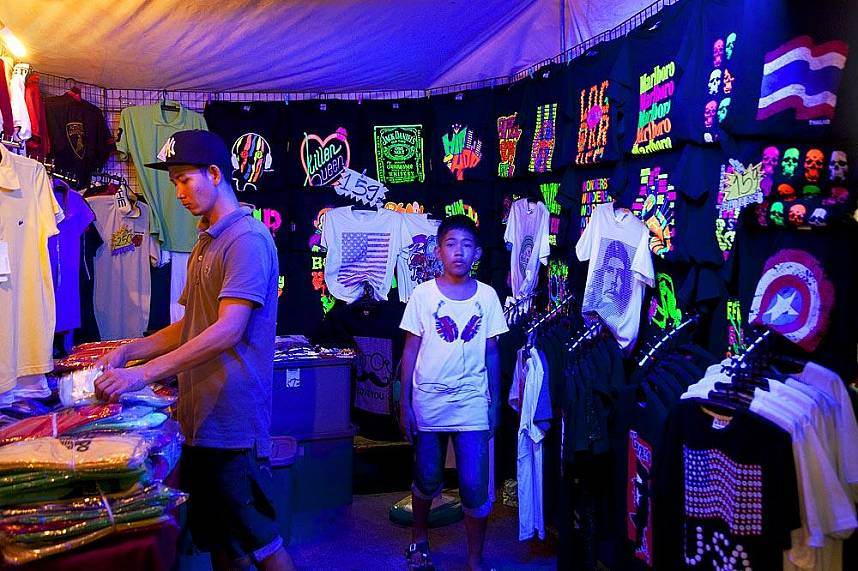 Fashion at Pattaya Weekend Night Market