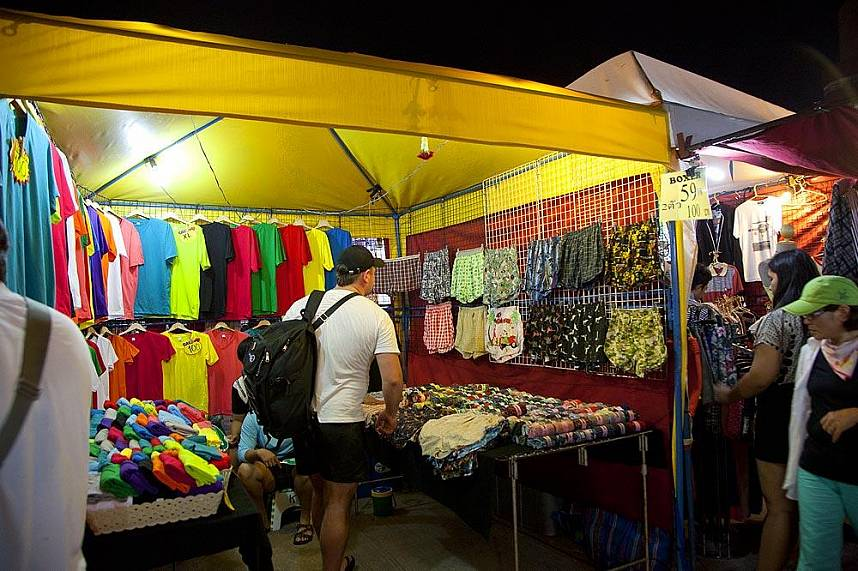 the choice is yours at Pattaya Weekend Night Market