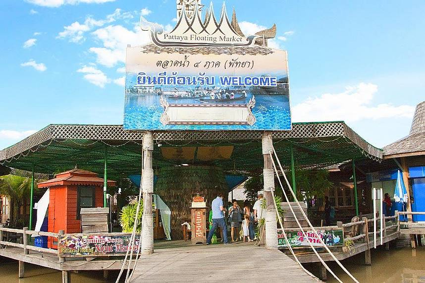Welcome for a great time at Pattaya Floating Market
