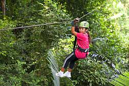 Canopy Adventures Seilrutsche in Pattaya