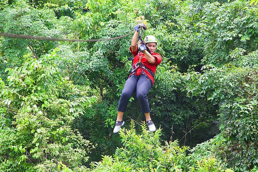 A truly fun day at Canopy Adventures Cable Ride Pattaya