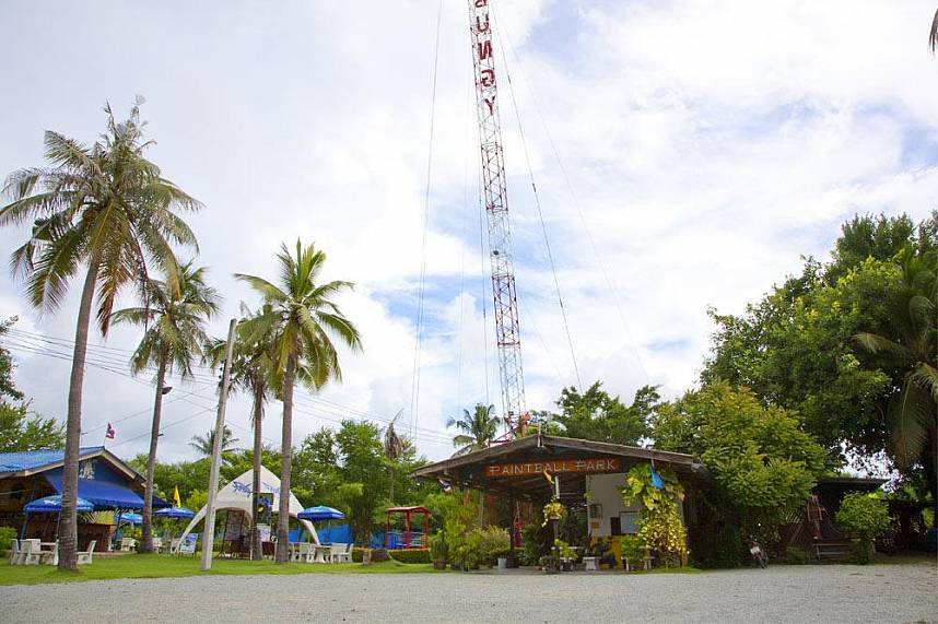 Welcome at the Pattaya Bungy Jump