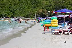 Ко Лан - тропический остров с бирюзовой водой и белоснежными пляжами в Сиамском заливе