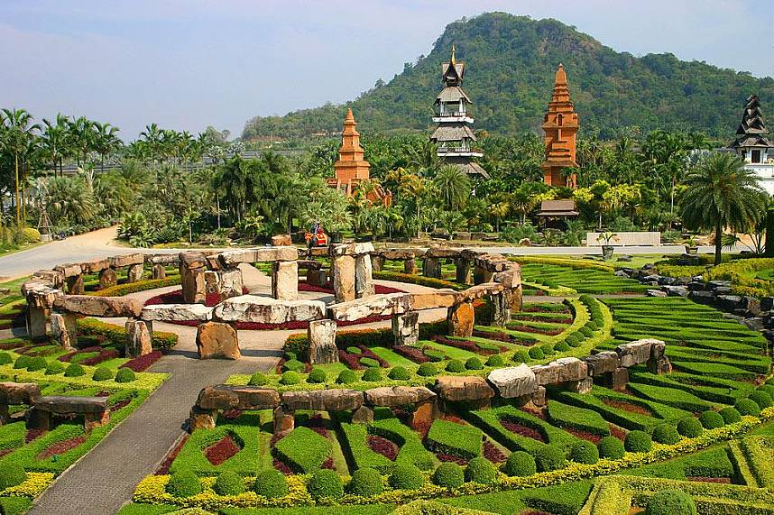 Superb gardens on the outskirt of Pattaya - Nong Nooch Gardens Pattaya