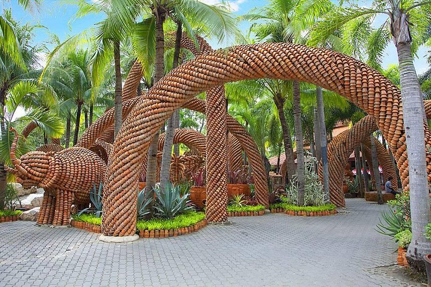 do not miss a pleasant stroll through Nong Nooch Gardens Pattaya