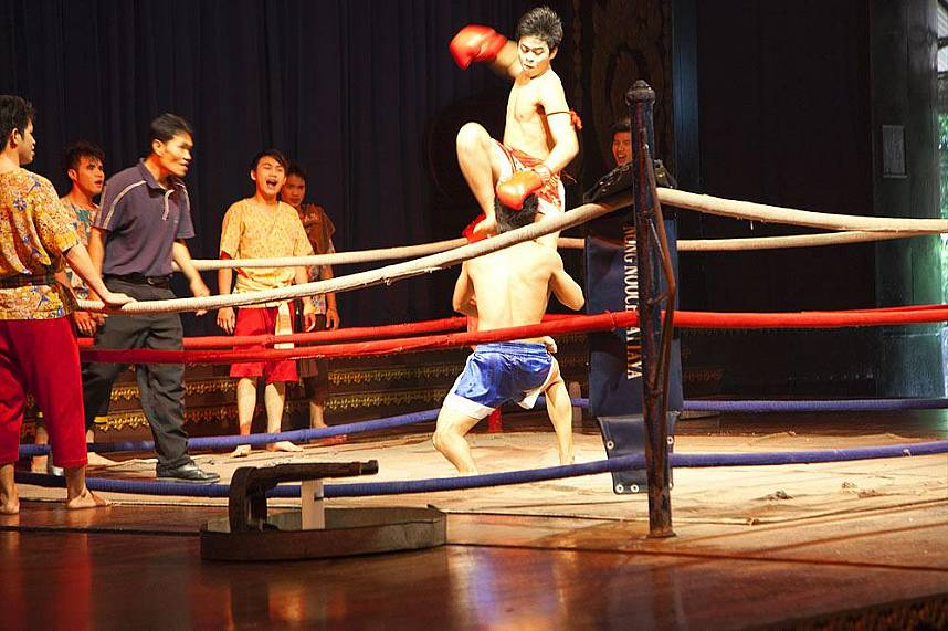 Muey Thai show at Nong Nooch Gardens Pattaya