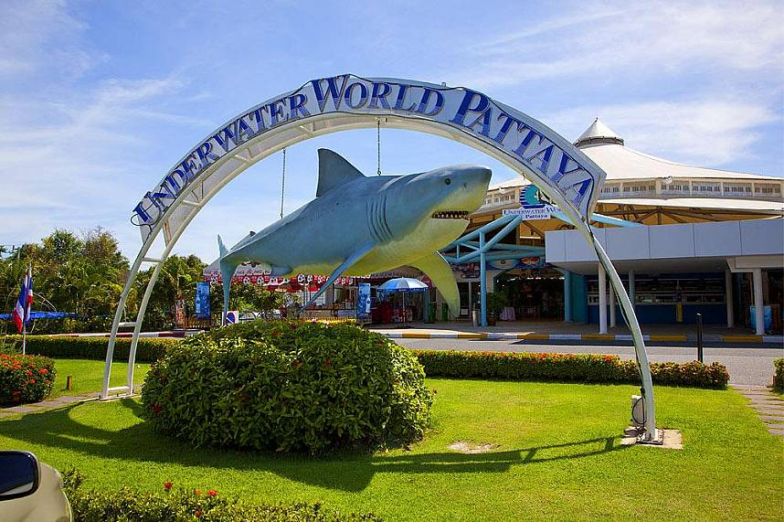 Underwater World Pattaya awaits you for a great family holiday