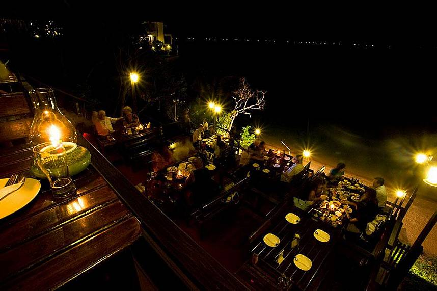 Romantic setting at Rimpa Lapin Restaurant Pattaya