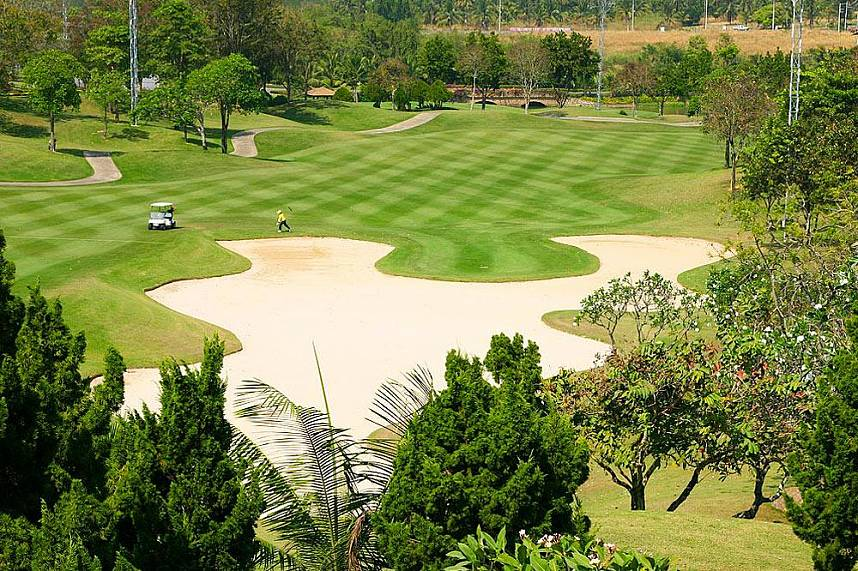 Exquisite golf holidays at Siam Country Club Golf in Pattaya