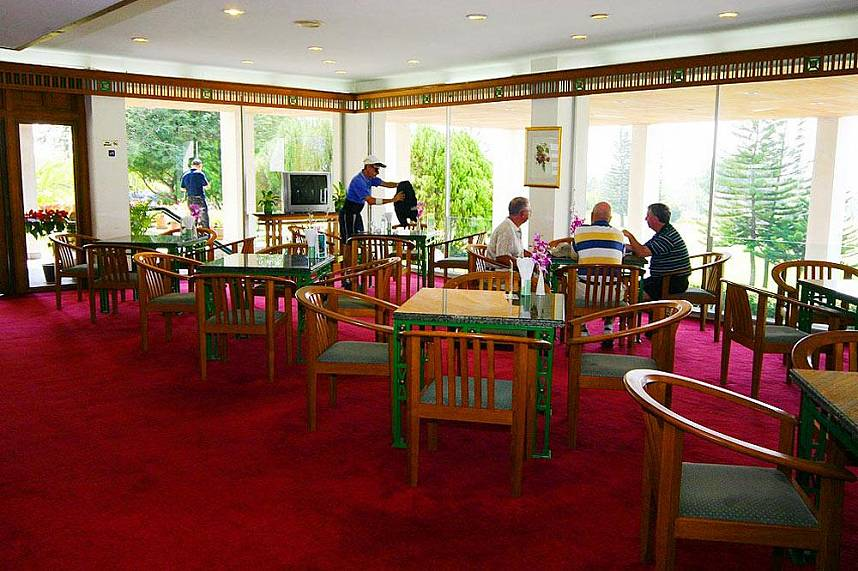 Golf restaurant at Phoenix Golf and Country Club Pattaya