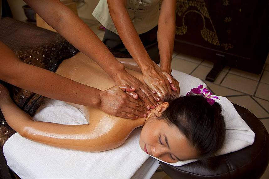 Pure relaxation for body and mind at Oasis Spa Pattaya