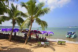 Центральный городской пляж Pattaya Beach