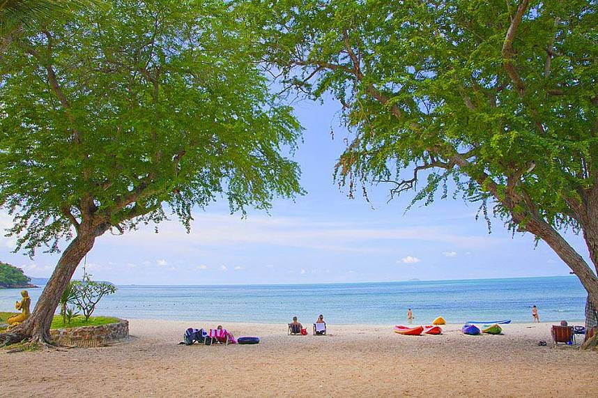 Sai Kaew Beach Sattahip Pattaya - one of the most magnificent beaches in Pattaya