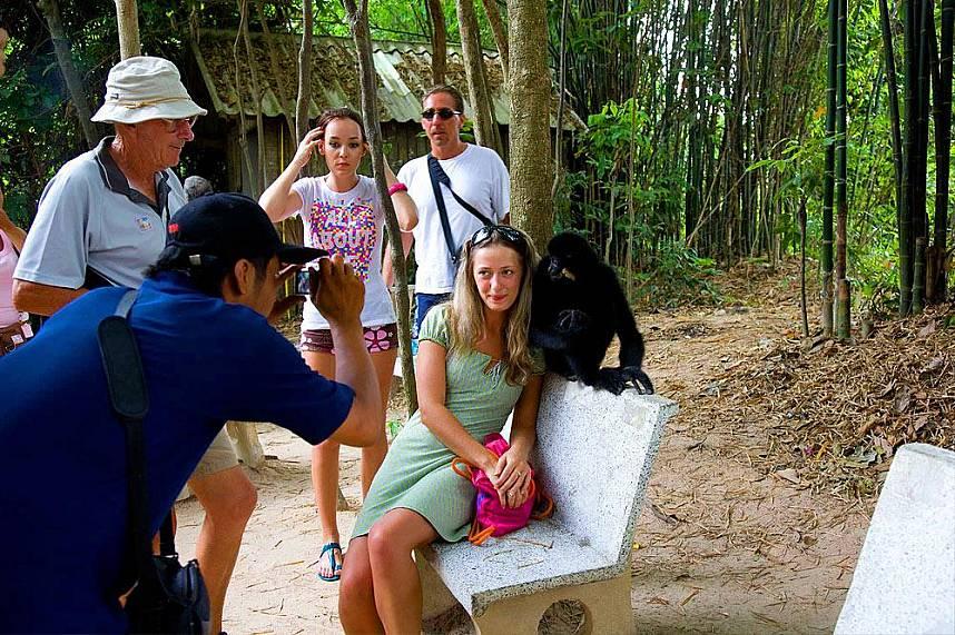 a unique photo during your visit at Elephant Village Pattaya