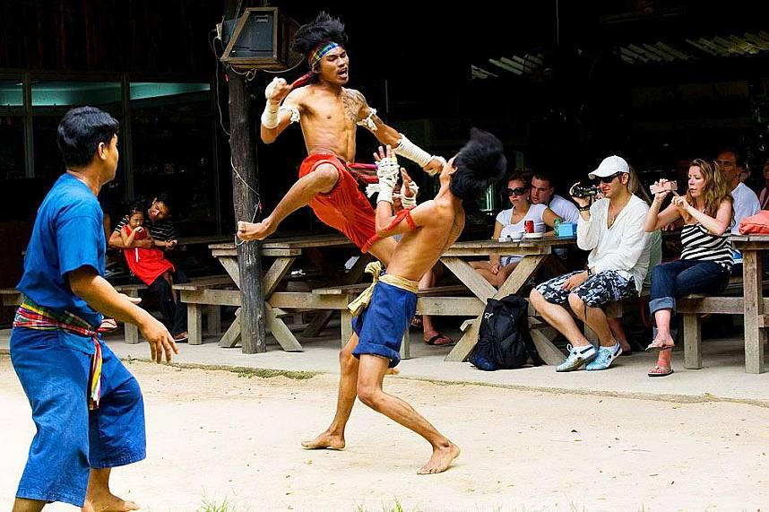 The ultimate Thai fight at Elephant Village Pattaya