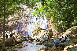Na Muang Waterfall in Koh Samui