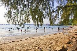 Пляж Nang Rum в местечке Саттахип