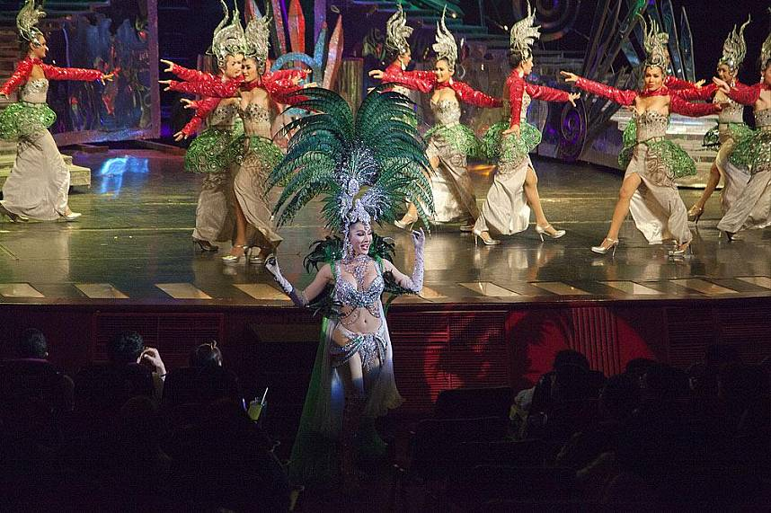 Tiffanys Cabaret Show Pattaya is a famous tourist attraction