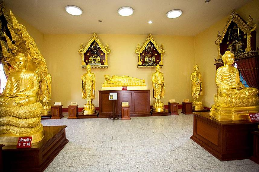 Viharnra Sien Chinese Temple Pattaya is a great place to visit during a Thailand vacation in Pattaya