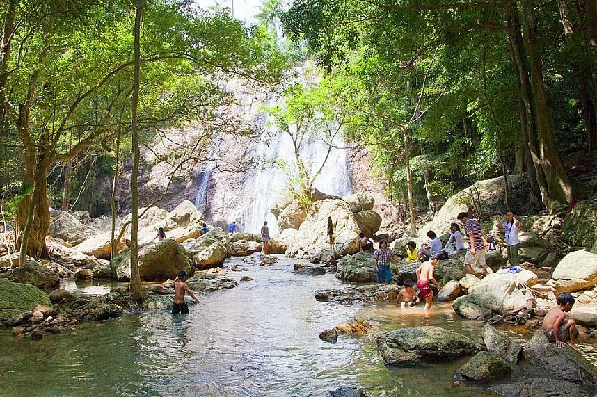 A fantastic jungle experience at Na Muang Waterfall Koh Samui