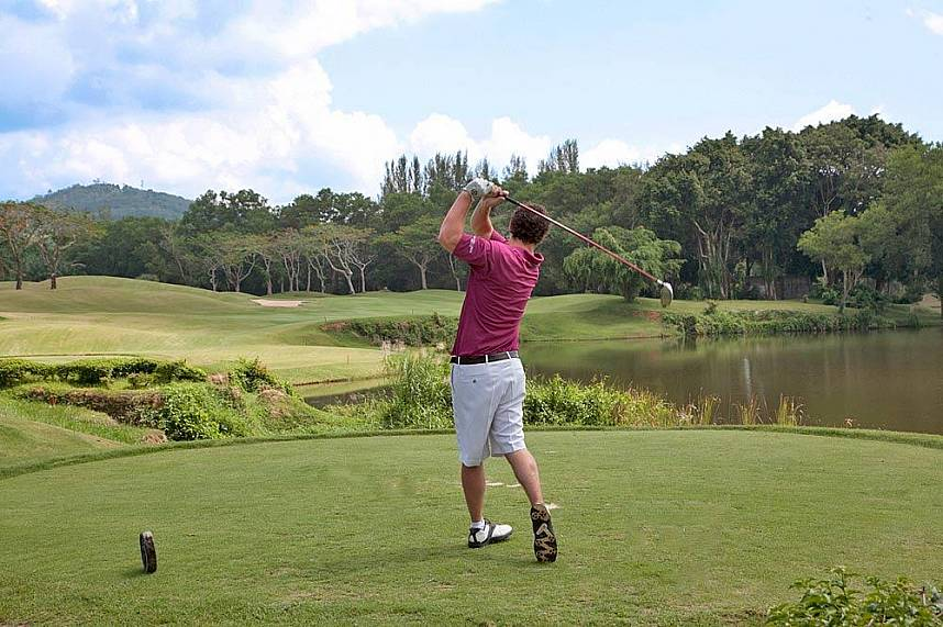 Blue Canyon Country Club Phuket is one of the most famous golf courses at Phuket
