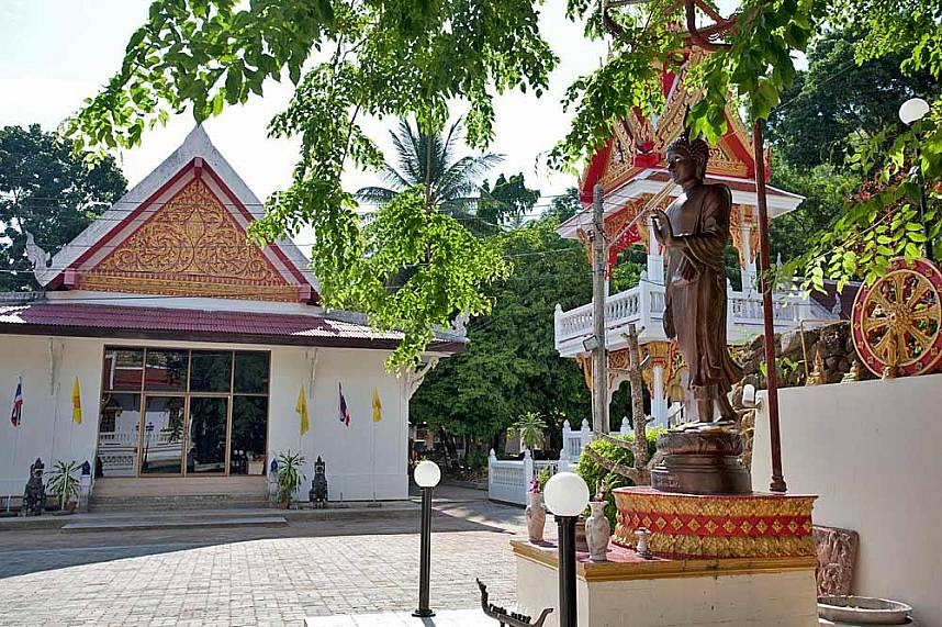 Kata Temple or Wat Kattisangkaram Phuket is a famous family attraction