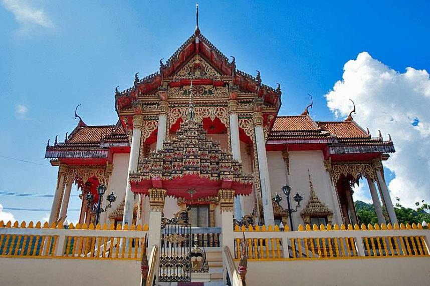 Patong Temple or Wat Suwan Khiri Wong Phuket is a must visit during a Phuket beach holiday