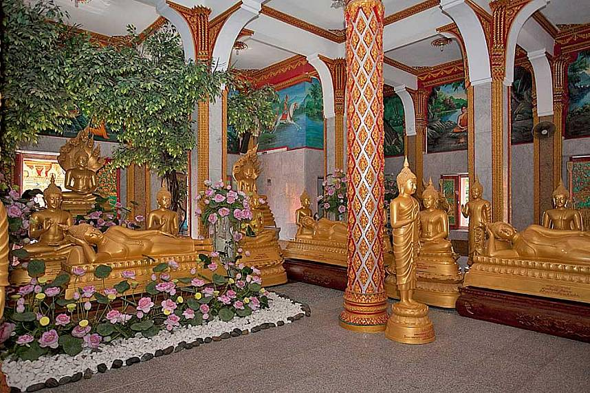 Chalong Temple is really called Wat Chaitararam Phuket